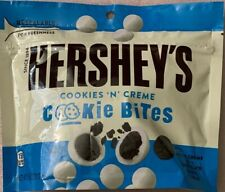NEW HERSHEY'S COOKIES N CREME COOKIE BITES 7.5 OZ (212g) RESEALABLE BAG BUY NOW