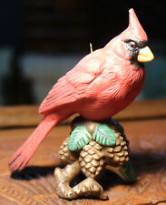 Lenox Cardinal Ornament Figurine Pinecones