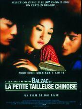 Affiche 120x160cm BALZAC ET LA PETITE TAILLEUSE CHINOISE 2002 Dai Sijie NEUVE