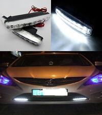 1pc Car 8 LED DRL Waterproof Daytime Running Day LED Light Head Lamp Super White