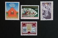 AUTRICHE timbre - Yvert et Tellier n°1326-1327-1332-1333 n** stamp Austria(cyn5)
