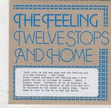 (EJ852) The Feeling, Twelve Stops And Home - 2006 DJ CD