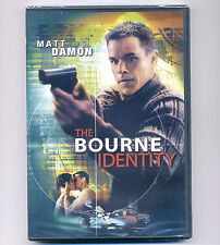 Bourne Identity 2002 PG-13 spy movie, new DVD Matt Damon, Clive Owen, widescreen