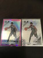 Donruss Optic Pink Hyper And Silver Wave Kyrie Irving Base Lot X2 Nets 2020