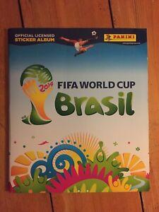 PANINI FIFA World Cup 2014 Brazil Sticker Album. 100% COMPLETE. SUPER.