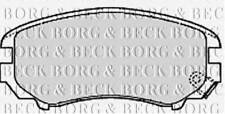 BORG & BECK BBP1884 BRAKE PAD SET FOR DISC BRAKE FRONT AXLE RC569032P OE QUALIT
