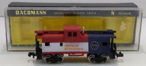 Bachmann 5703 N Scale Bicentennial Wide Vision Caboose LN/Box