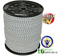 Electric Fencing Bungee Cord 25m Roll Elastic Rope for Electric Fence Gates