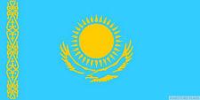 KAZAKHSTAN FLAG 3X2 feet 90cm x 60cm FLAGS Astana
