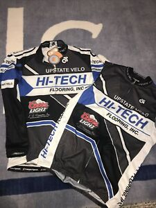 CHAMP-SYS Cycle BICYCLE JERSEY •JACKET FULL ZIP NWT & •SLEEVELESS SHIRT Men's M