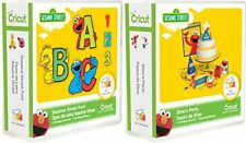 Cricut Bundle: Sesame Street Font & Elmo's Party- New Sealed EXPEDITED SHIP