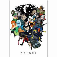 Harley Quinn Hot Superhero DC Movie Comic Jocker Fabric Poster Home Decor H-256
