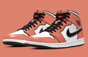 Nike Air Jordan 1 Mid Turf Orange/Black White DD6834-802 Size 11.5 *SHIPS TODAY*