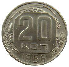 (E85) - Russland Russia - 20 Kopeken Kopeks - 1956 - K-N - XF - Y# 118