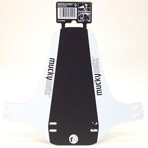 Mucky Nutz Face Fender White/Black