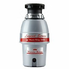 Durable High Speed Motor 1/2 HP Continuous Feed Garbage Disposal with Power Cord