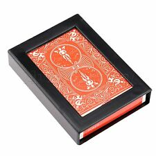 Vanishing Disappearing Card Box Case Close-Up Street Magic Trick Set Interesting