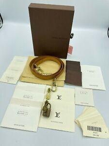 Auth Louis Vuitton Shoulder strap set 4303