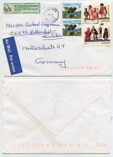 50382 - Kanada - Beleg - 23.10.1998 nach Eisleben
