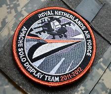KLu RNLAF ROYAL NETHERLANDS AIR FORCE APACHE AH-64D SOLO DISPLAY TEAM 2011-2012