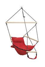 Swing Chair Hängesitz Hängesessel Hängestuhl Swinger Rot Wetterfest Amazonas