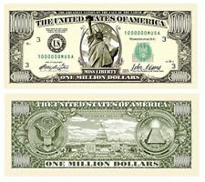 Million Dollar Bill Notes - Statue of Liberty - Set of 100