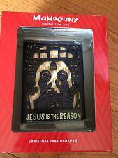 NEW 2015 Jesus Reason Praying Hallmark Mahogany Ornament Christmas Religious