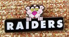 OAKLAND RAIDERS PINK PANTHER Lapel Pin