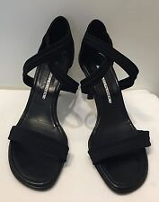 Donald J Pliner Women's Black Strappy Heel Sandals size 7 M