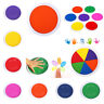 New Washable Kids DIY Ink Pad Scrapbooking Rubber Stamp Craft 9 Colors To Choose