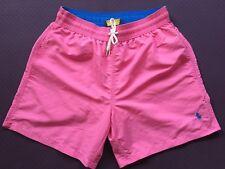 Polo Ralph Lauren Swim Short Traveler Trunk Chroma rose taille S ou M