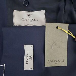 Canali 1934 Blue 100% Wool Blazer Sport Coat MOD#13290/37 Men's Size US 38R
