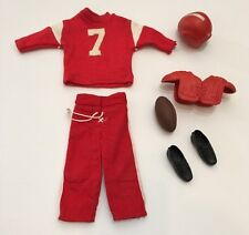 Vintage Barbie Ken Touchdown Football outfit #799
