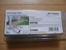 protimber Montage-Clip Kunststoff Grau für protimber Bodendielen - 25 Clips