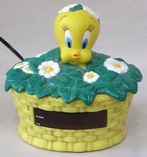 Vintage Warner Bros. Tweety Bird Digital Alarm Clock 1999 Child's Clock
