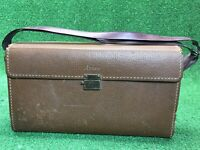 Vintage Ansco Leather Case for camera Large Rare Fast Free Shipping
