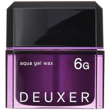 ☀ Number Three DEUXER Aqua Gel Wax 6G Hair Styling Wax 80g Japan ☀