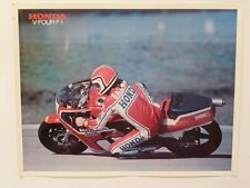 1982 Honda Mike Baldwin Poster - Roadrace VF750F V45 VF 750 VF1000R Interceptor
