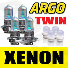 4X H3 55W SUPER WHITE XENON 453 HEAD LIGHT BULBS 12V 501 LED SIDELIGHT FOG TWIN