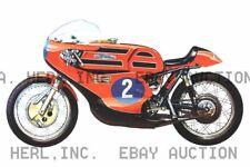 Aermacchi  Harley Davidson 250 Grand Prix Poster 1972 ca 8 x 10 print poster