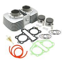 Cylinder Piston Rings Gasket Kit for Honda CA250 CMX250 CMX250C Rebel 250 96-15