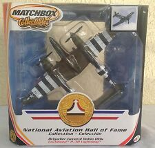 Lockheed P-38 Lightning diecast military plane Matchbox Collectibles New in box