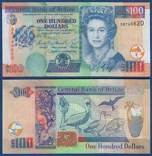 BELIZE 100 Dollars 2006 UNC  P.71 b