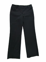 Ann Taylor Factory Women Pants, NEW Signature Fit Bootcut Black Career, Size 8