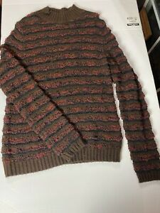 Pendelton Womens Wool Blend Sweater Size Medium Open Knit