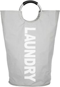 Laundry Basket Portable Waterproof Clothes Laundry Washing Bag Hamper Storage