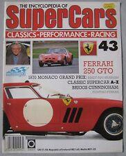 SUPERCARS magazine Issue 43 Featuring Ferrari 250 GTO cutaway, Briggs Cunningham