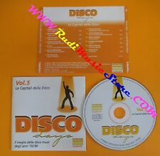 CD DISCO DAYS VOL 5 PROMO compilation 2002 DIANA ROSS JACKSONS M.F.S.B. (C41)