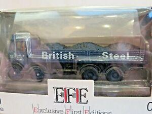 EFE E 10801. AEC Mammoth Major Lorry. British Steel Margam. OO 1:76 Scale Boxed.