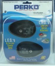Perko 0602DP1 LED Sidelight Black Housing Pair 7414